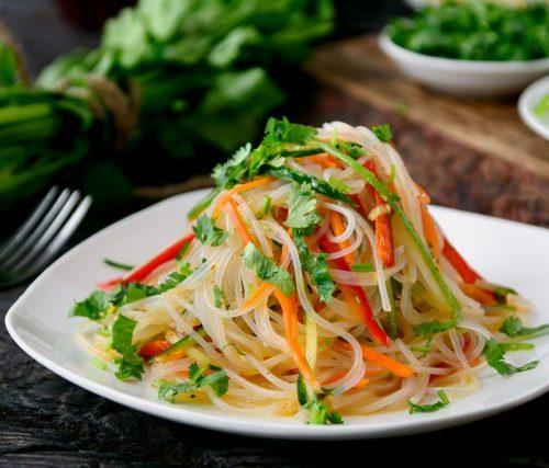 Бян Сян Сыр (фунчёза,морковь,перец,зелень)
