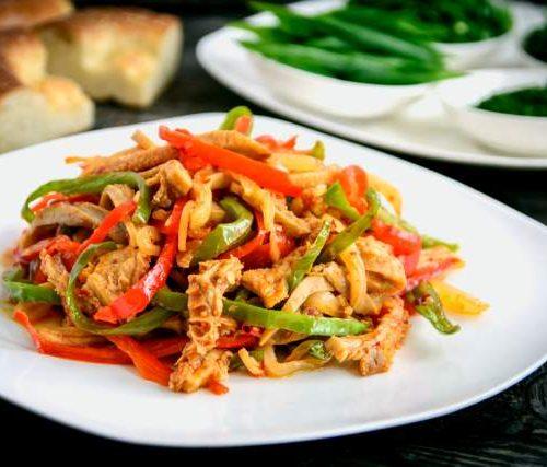 Керин Сяй (говяжий рубец в соусе из овощей и приправ)