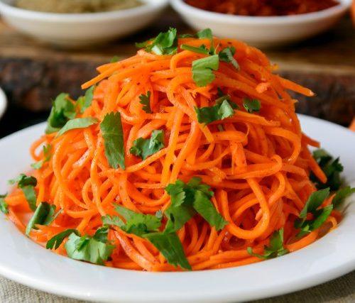 Морковный корейский