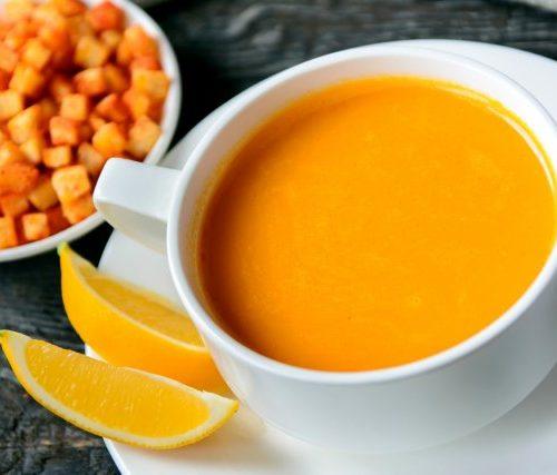 Тыквенный Суп (нежный крем-суп)