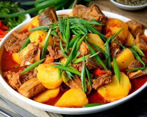 Дапан Ян Ру (баранина,картошка,специи)